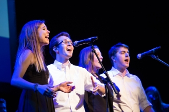 Colonials Weekend 2016 will feature student performances such as Acapellapalooza.