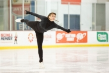 Sophomore Colette Kaminski balances life as a student and as a world-class figure skater for the Polish national team.