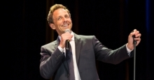 Seth Meyers performs at Colonials Weekend
