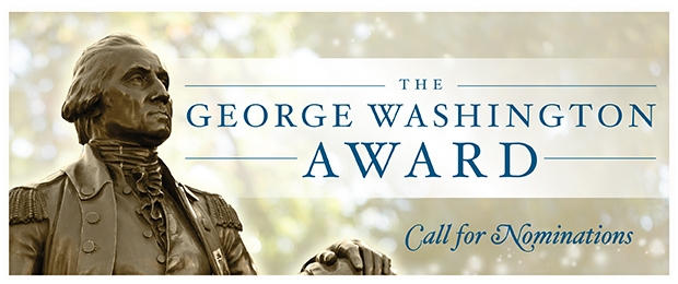 The George Washington Award Call for Nominations