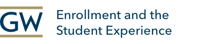 GW Enrollment and the Student Experience